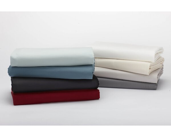 Sateen 300 Thread Count 100% Cotton Fitted Sheet by Coyuchi